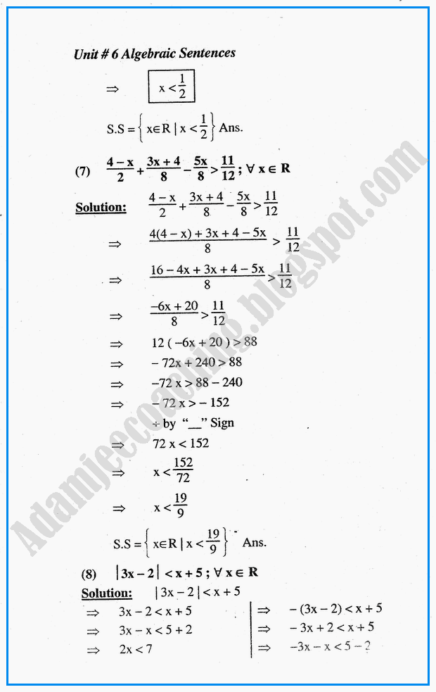 algebraic-sentences-exercise-6-5-mathematics-10th