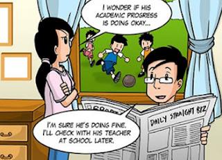 Fokus A membantu ibu bapa memantau pembelajaran anak-anak