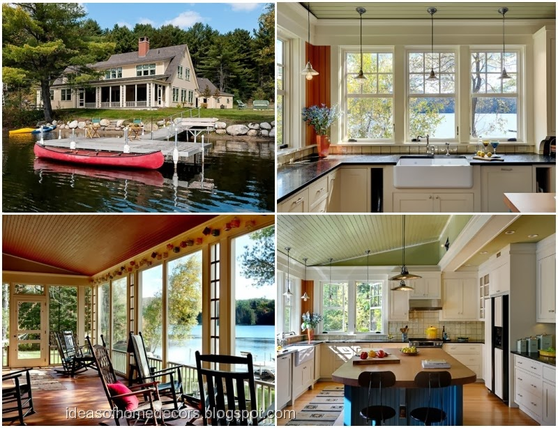 Beautiful Lakeside Home Decorating Ideas