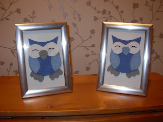 owls, felt craft, homemade gifts