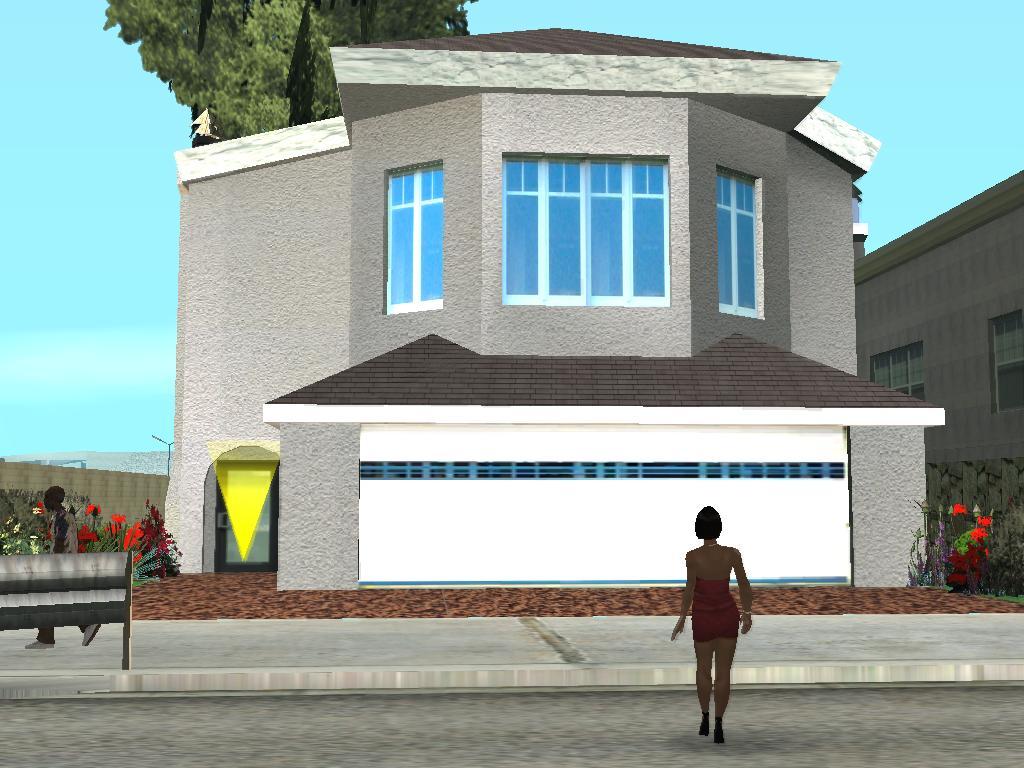 Gta mods nova casa cj las venturas for Casa moderna gta sa
