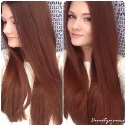 Цвет волос после