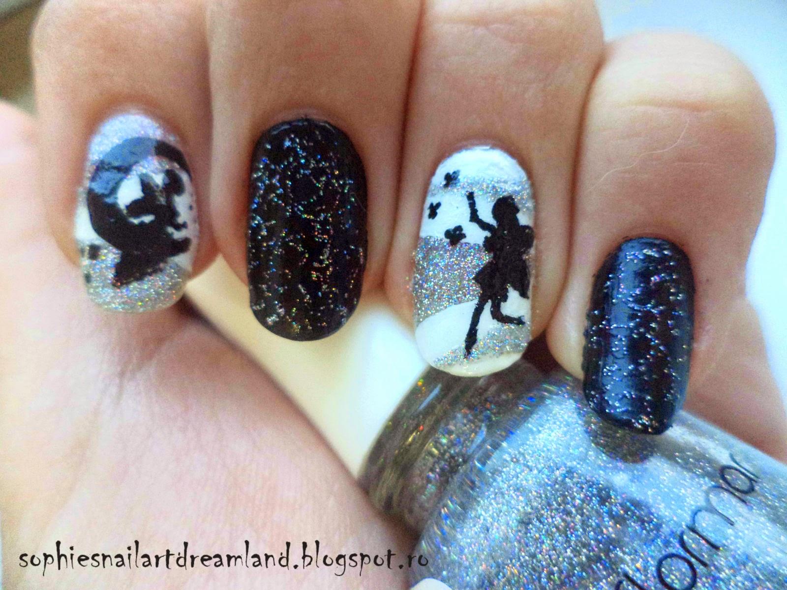 Alphabet nail art challenge - Letter F... for Fairies | Sophie\'s ...