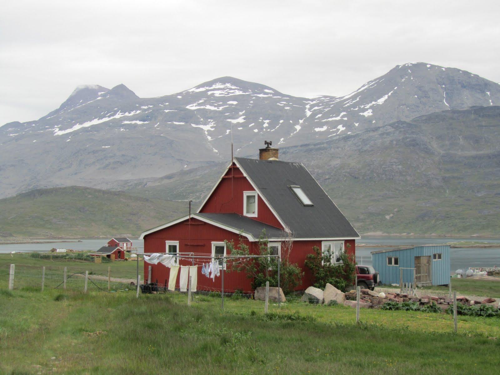 Uno de mainar por el mundo kalaallit nunaat groenlandia - Casas en islandia ...