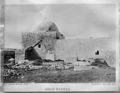 קבר רחל - 1912- ליאו קאהן ארכיון יד בן צבי
