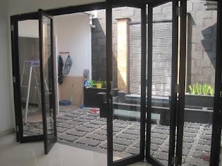 Model Pintu Lipat Alumunium Murah