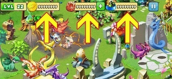 Dragon Mania Legends Cheat Hack Tool Unlimited Gems, Gold and Food