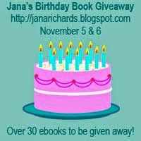 Jana's Birthday Book Giveaway!