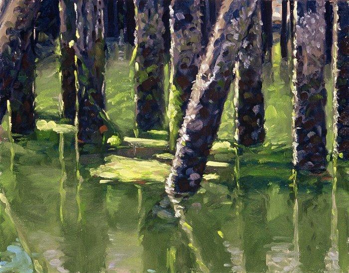 Aaron Coberly 1971   Figurative Impressionist painter