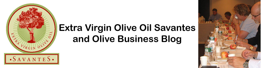 Extra Virgin Olive Oil Savantes and Olive Business Blog