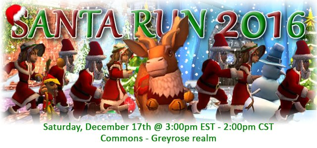 Wizard101: Santa Run