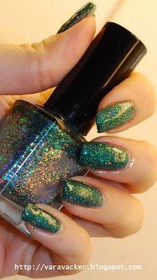 naglar, nails, nagellack, holografiskt, holo, holographic