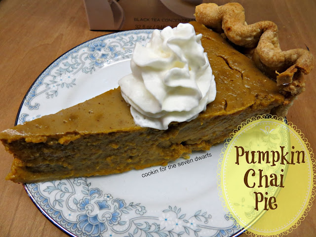 pumpkin chai pie