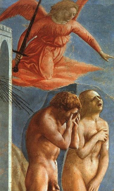 Women In Mourning Expulsion From The Garden Of Eden Masaccio 1425