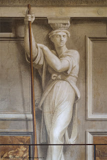 Рафаэль, гризайльная роспись в Ватиканских станцах