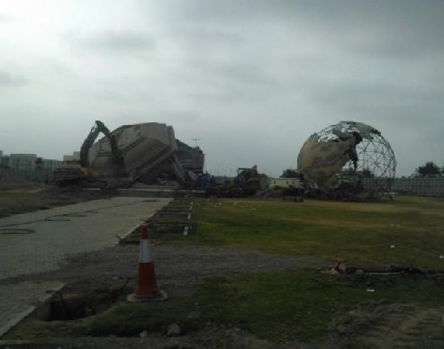 Sohar Globe Roundabout is no more