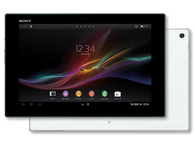 SONY XPERIA Z TABLET WiFi FULL SPECIFICATIONS SPECS CONFIGURATIONS DETAILS FEATURES