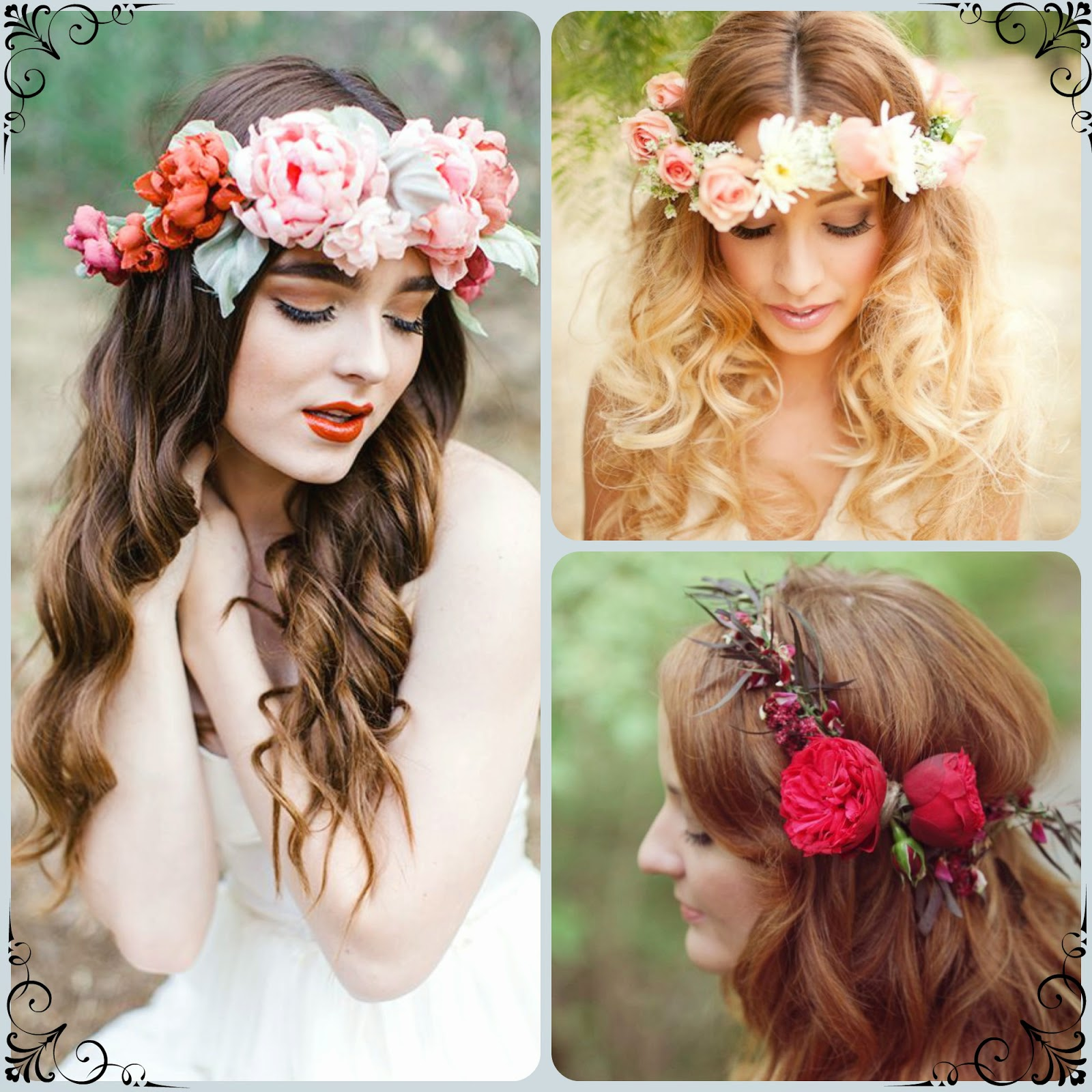 Be A Queen With A Custom Flower Crown Wedding Inspirations Bridal