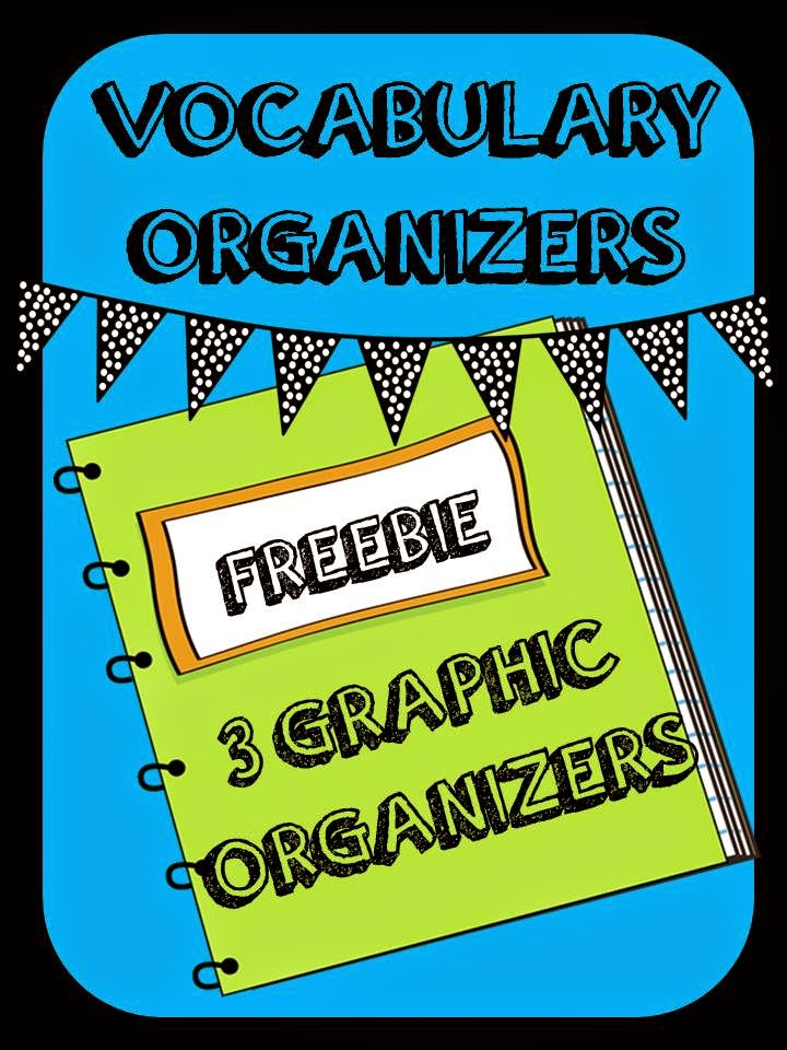 http://www.teacherspayteachers.com/Product/3-Vocabulary-Organizers-Vocabulary-Journal-Freebie-1467275