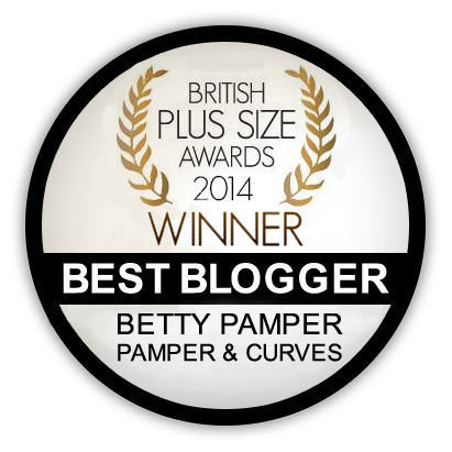 British Plus Size Blogger Winner 2014