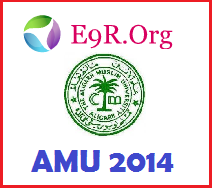 Aligarh Muslim University Admission 2014 Admit Card, Hall Ticket, Answer Key and Results