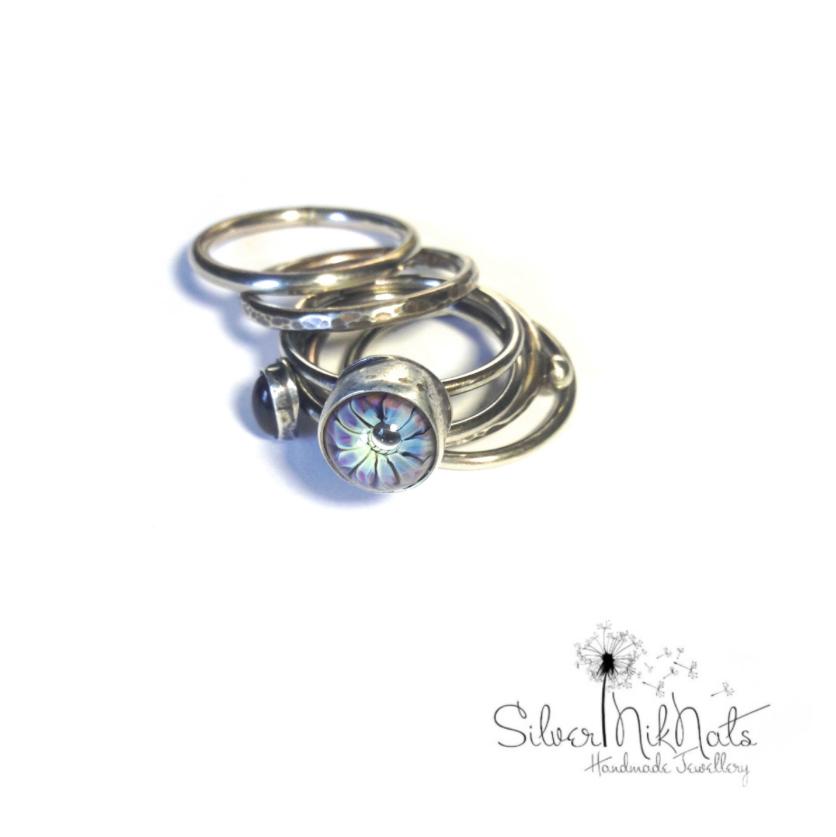 lampwork ring