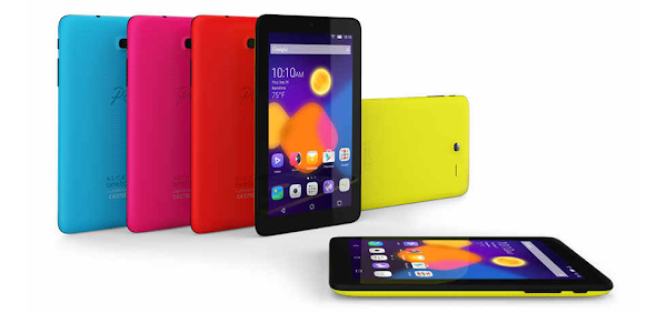 Alcatel announces a PIXI 3 (7) colors