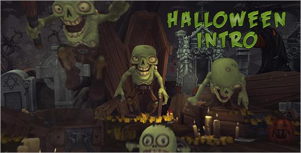 VideoHive Halloween Intro