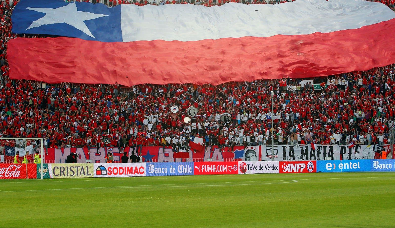 Estadios chile 2015 for Puerta 4 estadio nacional