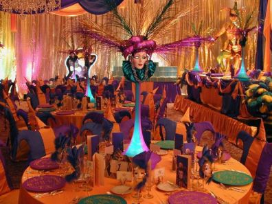 Decoraci n de fiestas de carnaval for Decoracion para carnaval