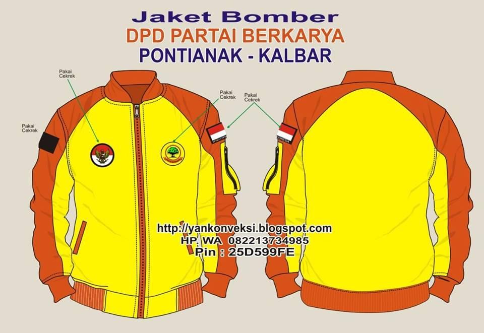 JAKET BOMBER PARTAI BERKARYA