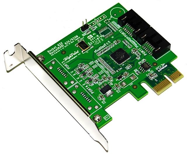 HighPoint RocketRAID 620 - 88SE9125 SATA Controller