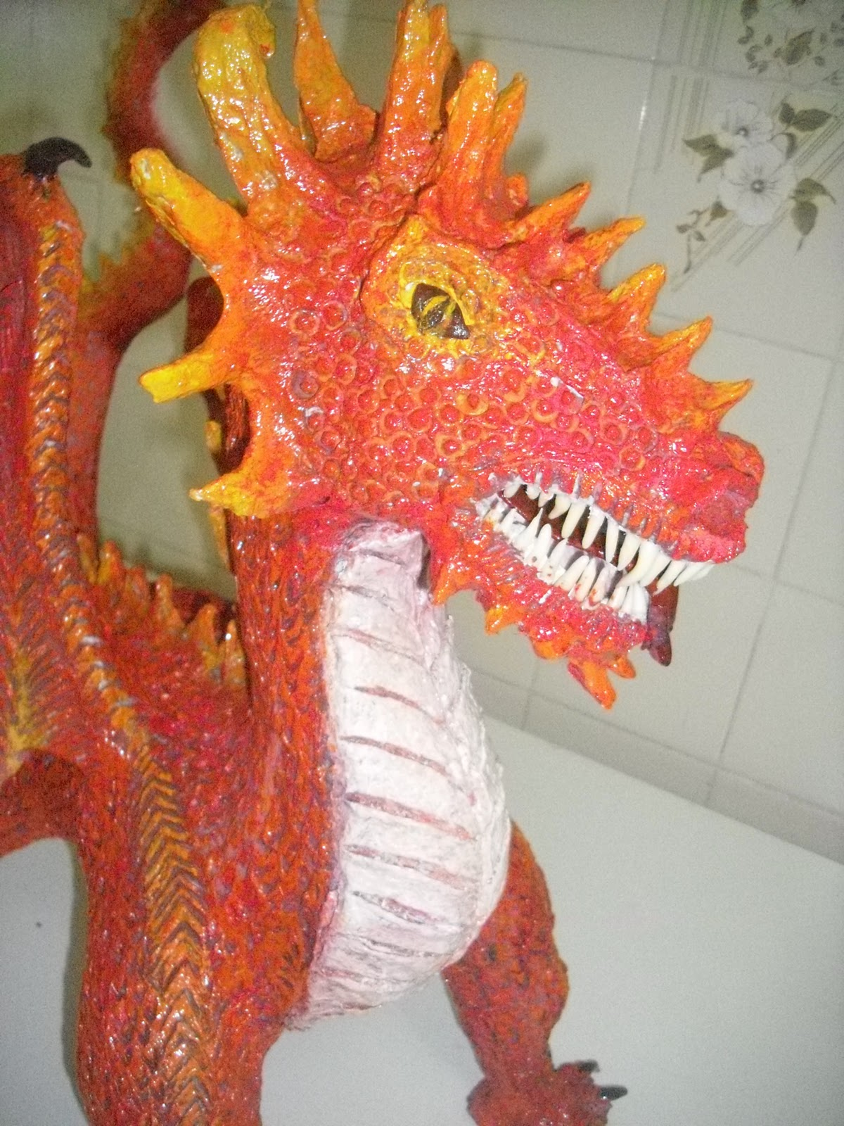 Artesanato Com Papel Mache ~ Regina Recicla Artesanato com papel mache