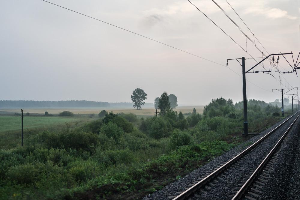 Kolej Transsyberyjska - Gdzieś pośrodku Syberii