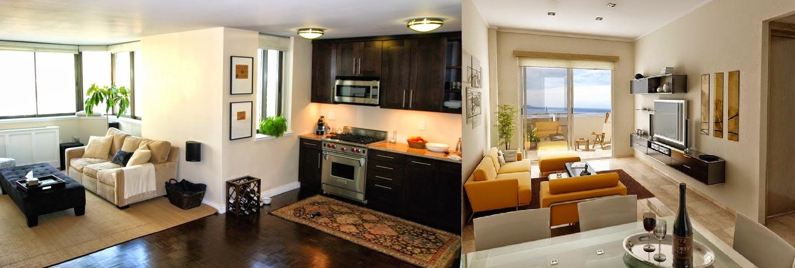 Buena organizacion para espacios peque os casas ideas Ideas de salas para espacios pequenos