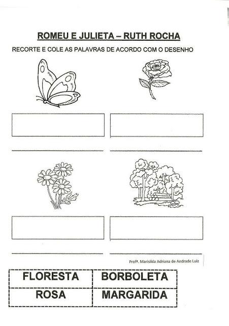 blog da cidha projeto romeu e julieta ruth rocha