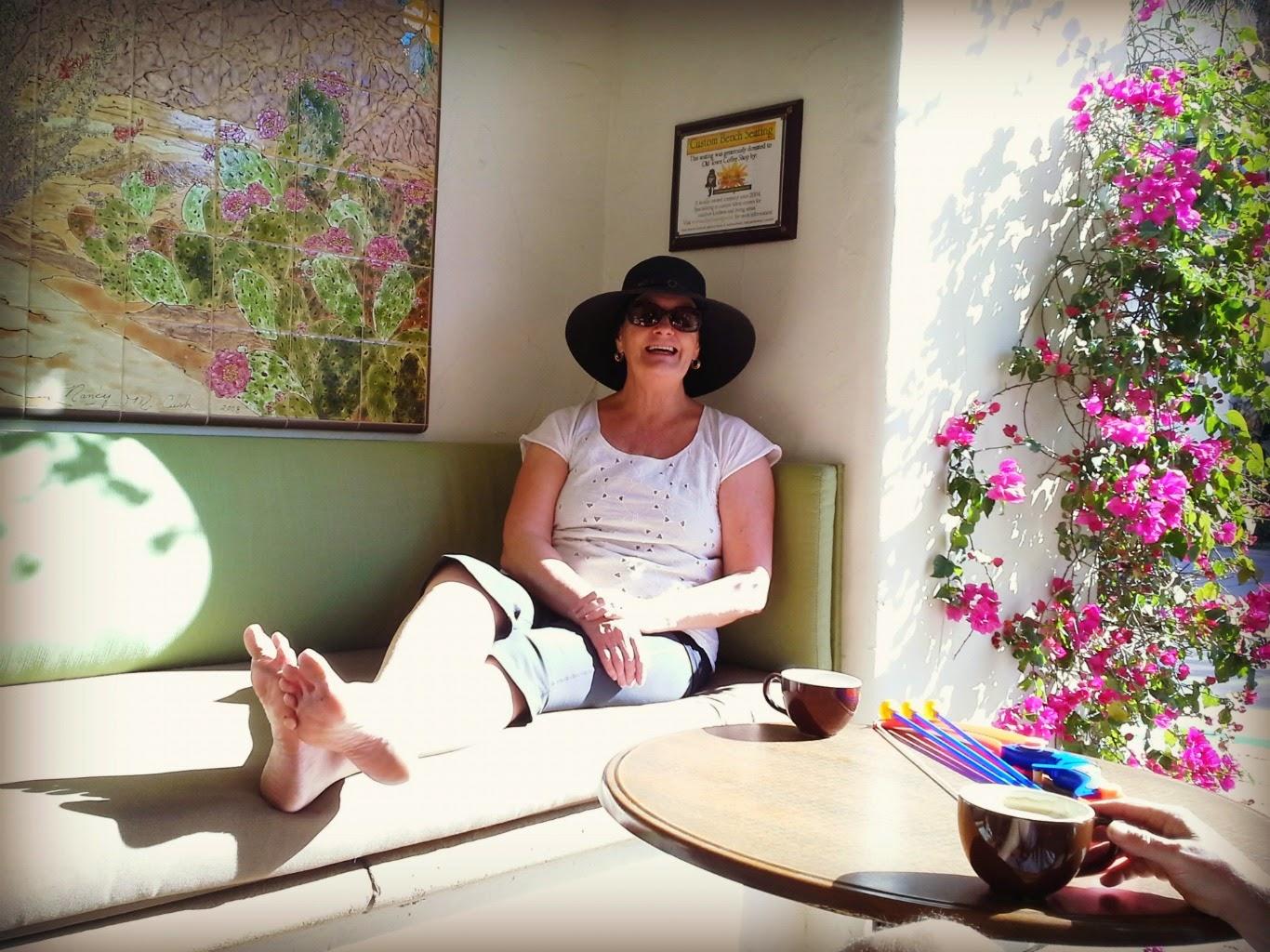 Lizzie Lau Mom Gammy Grandmother Old Town Coffee La Quinta