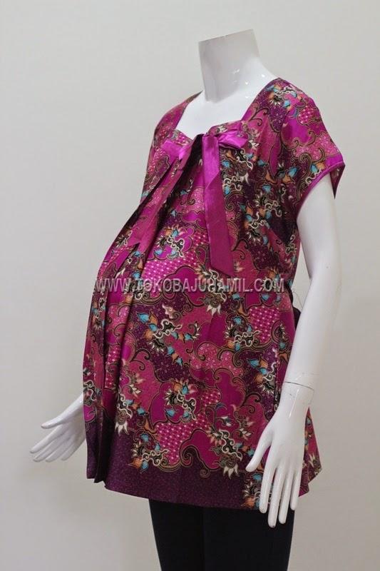 Bajukerjahamil Model Baju Hamil Batik Kerja Baju Hamil Terbaru