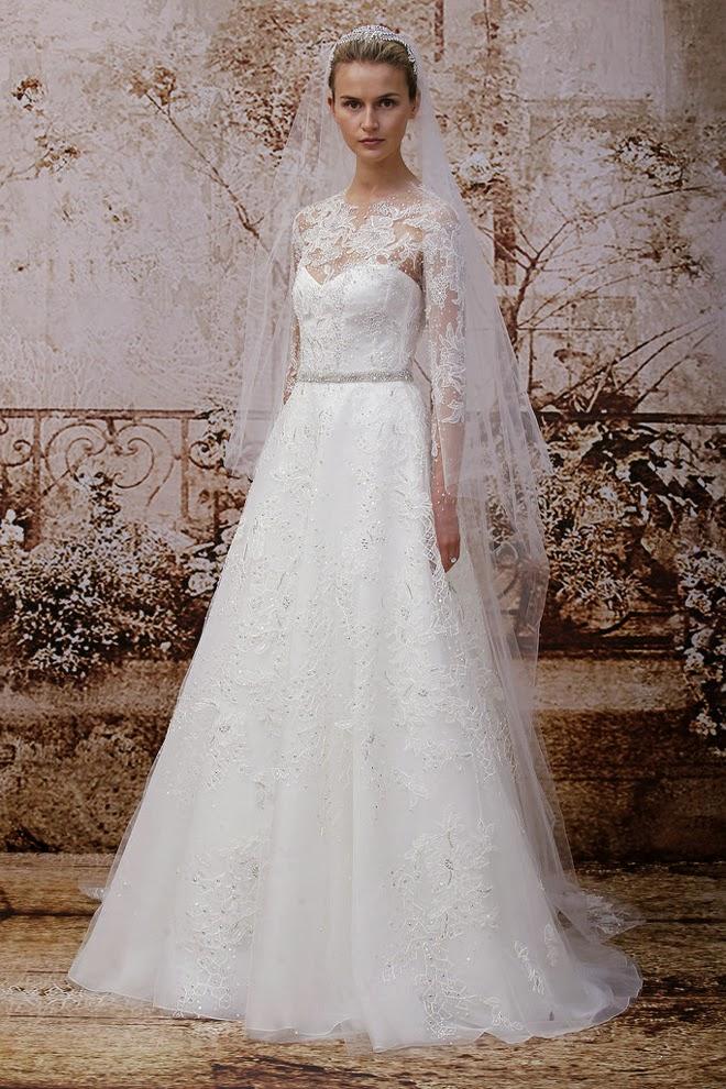 wedding blog favorites bridal market monique lhuillier fall collection