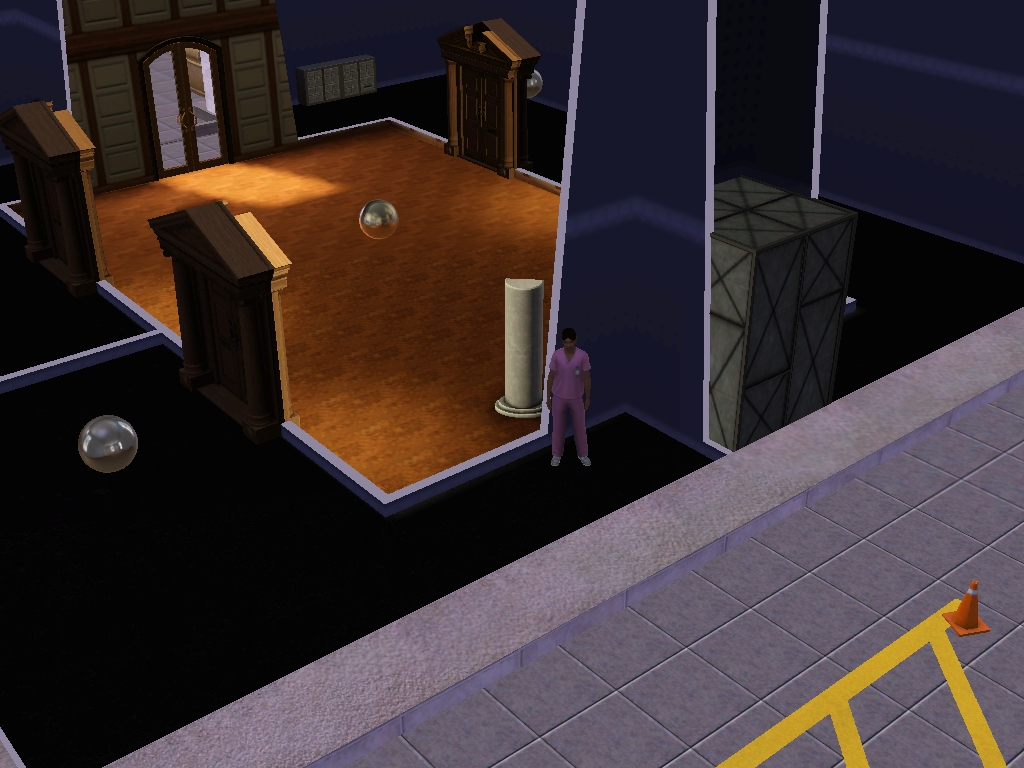 sims 4 how to allow after locked doors