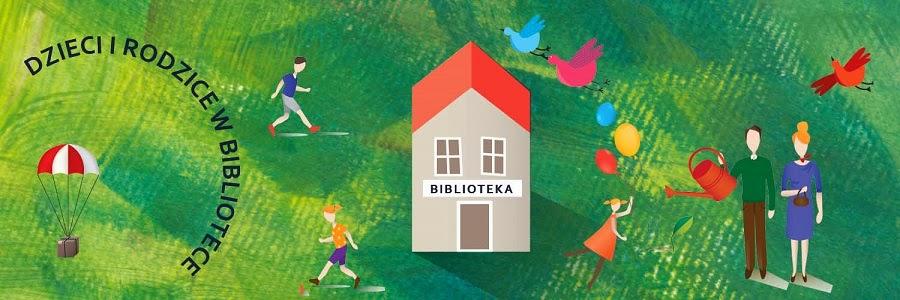 Dzieci i rodzice w bibliotece