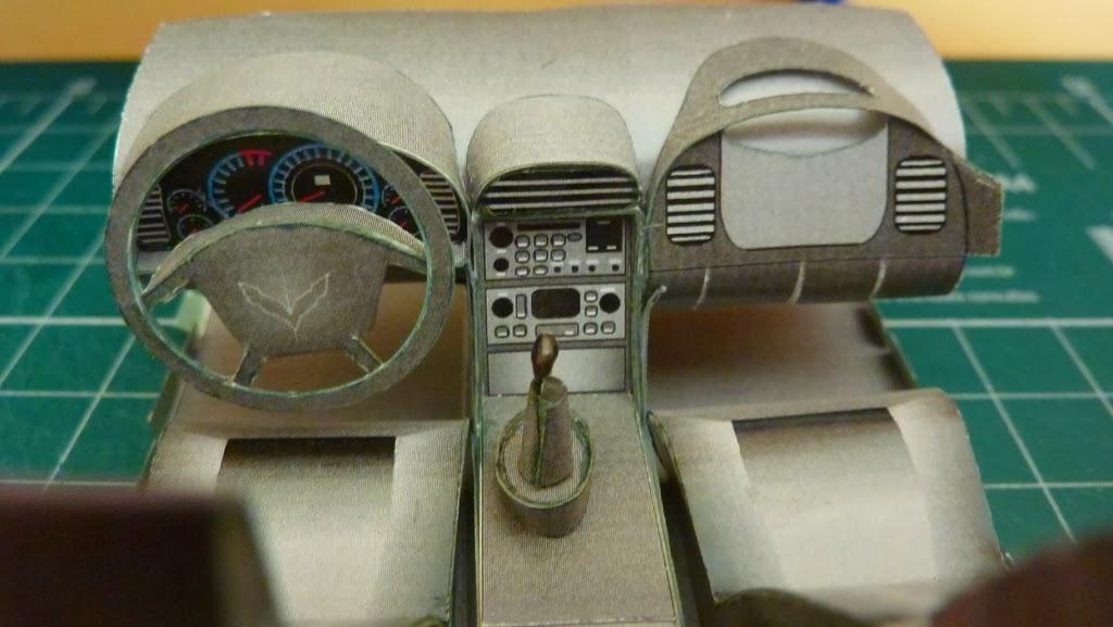 CABINE Corvette 1997 esc 1:25