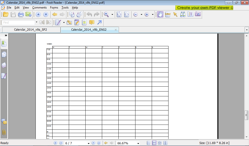 ... sports and more.: Calendar 2014 v9: year/month/week-calendar in Excel
