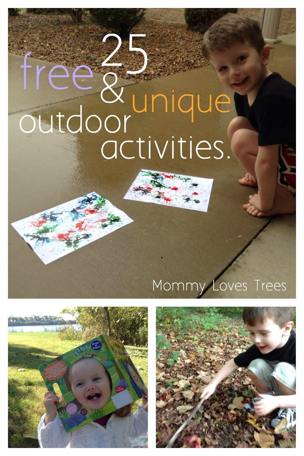 25 Free, Fun & Unique Outdoor Activities