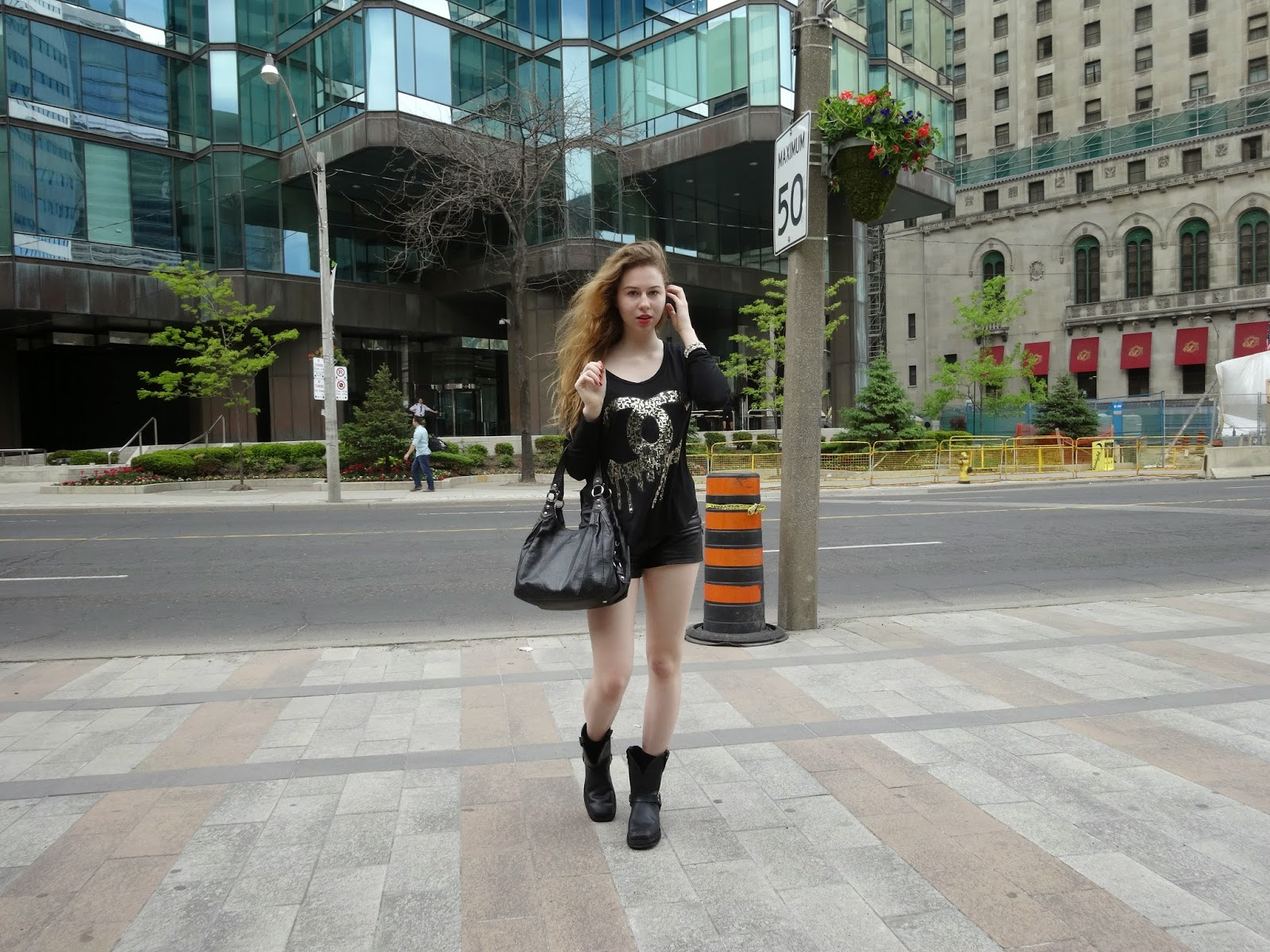 annie robinson, fabincblog, fashion and beauty inc, street style, toronto, coco chanel, horse riding boots, coach bag, material girl, summer, ootd, city style, fashion blogger canada