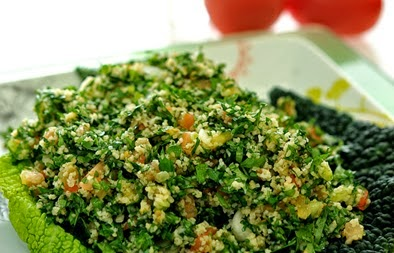 Cracked Wheat and Parsley Salad (Tabooleh)