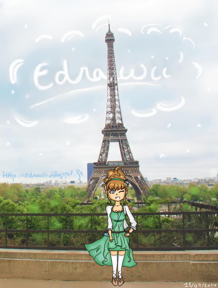 Favori Un blog, des dessins : Edrawii: Paris : Tour Eiffel QF59