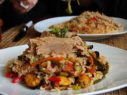 risoto sin gluten para celiacos especialidad del restaurante italiano Da Paolo