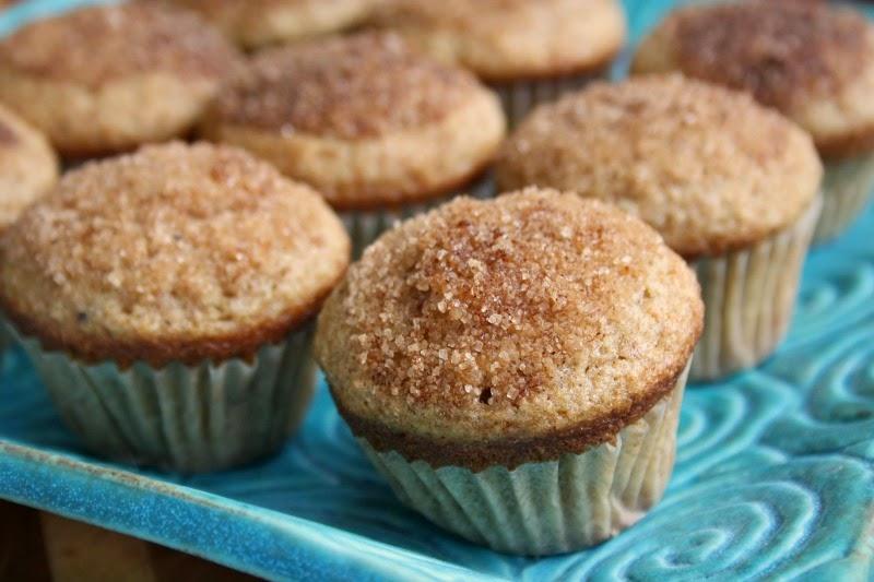 100 percent whole grain spelt doughnut muffins