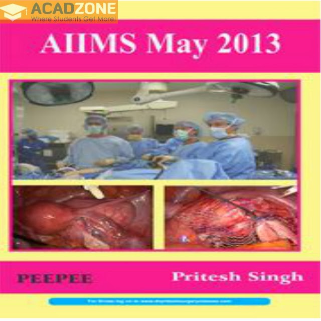 AIIMS May 2013 Book by Pritesh Kumar